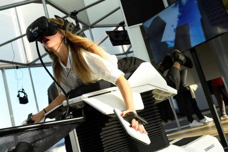 Public des salles de réalité virtuelle