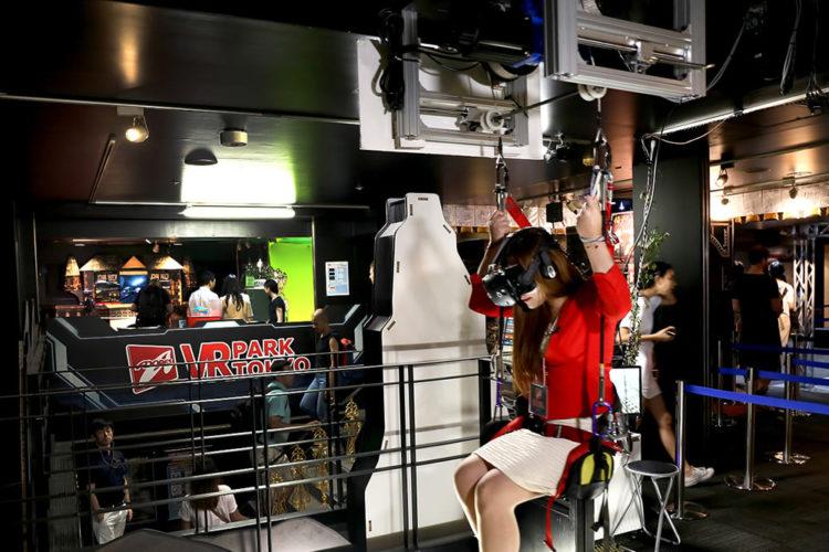 Salles d'arcade en réalité virtuelle