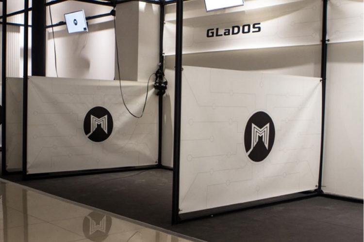 Taille d'une salle d'arcade en réalité virtuelle VR