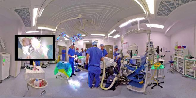 Vidéo 360 neurochirurgie anévrismes