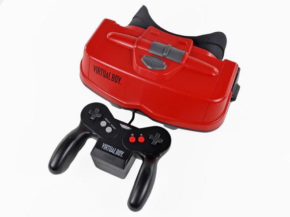 Virtual Boy casque vr Nintendo