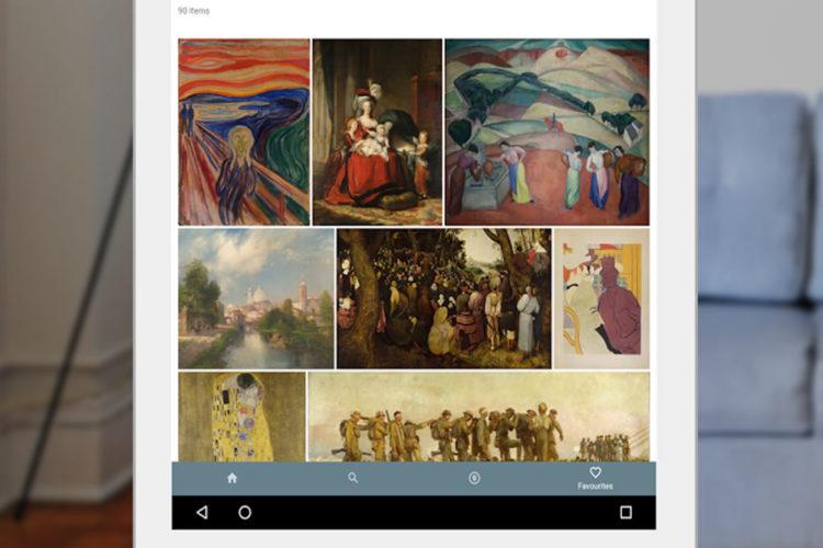 Art en réalité virtuelle Google Cardboard