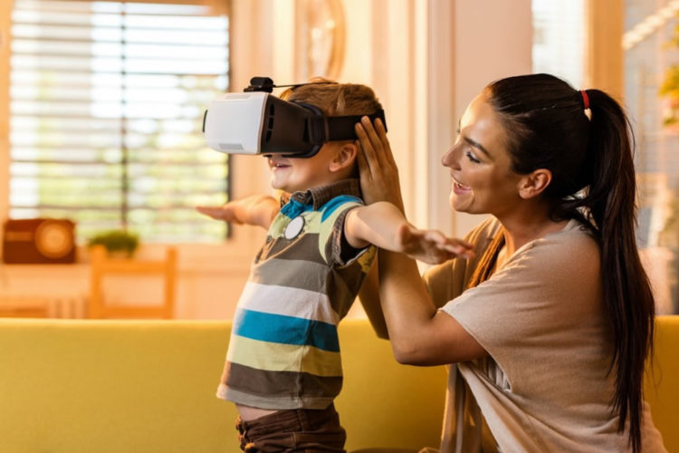 Danger réalité virtuelle enfants
