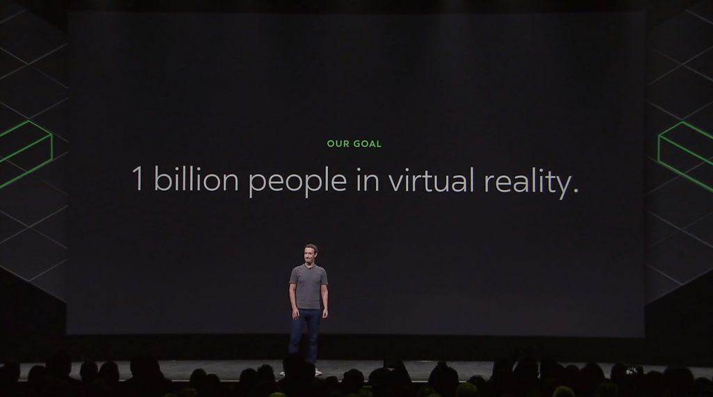 facebook 1 milliard vr