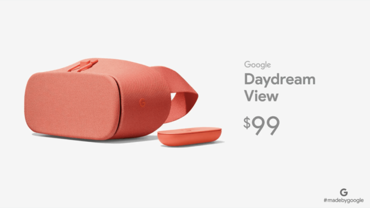 Le casque de réalité virtuelle arrive enfin en France — Google Daydream View
