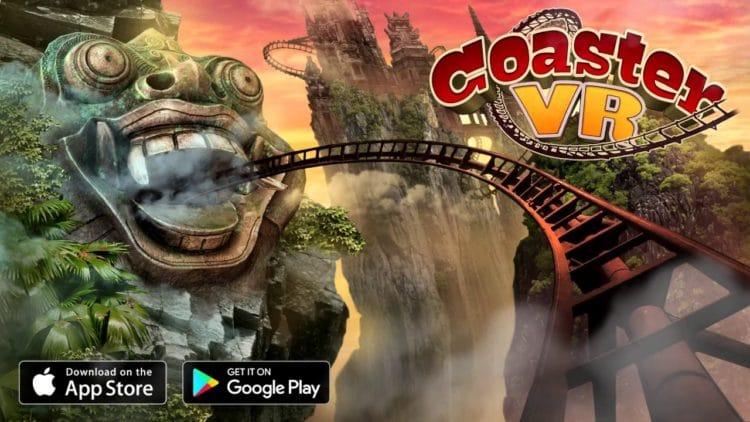 VR Roller Coaster Temple Rider