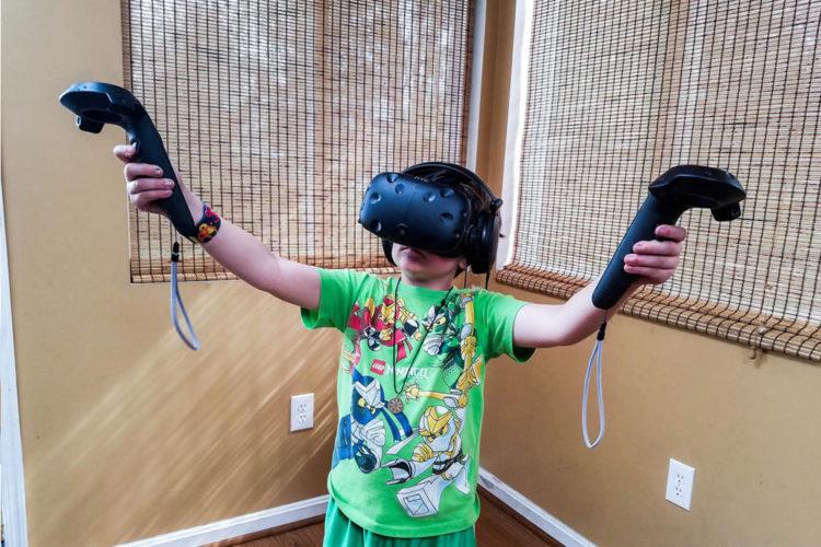 Risques de la VR chez les enfants