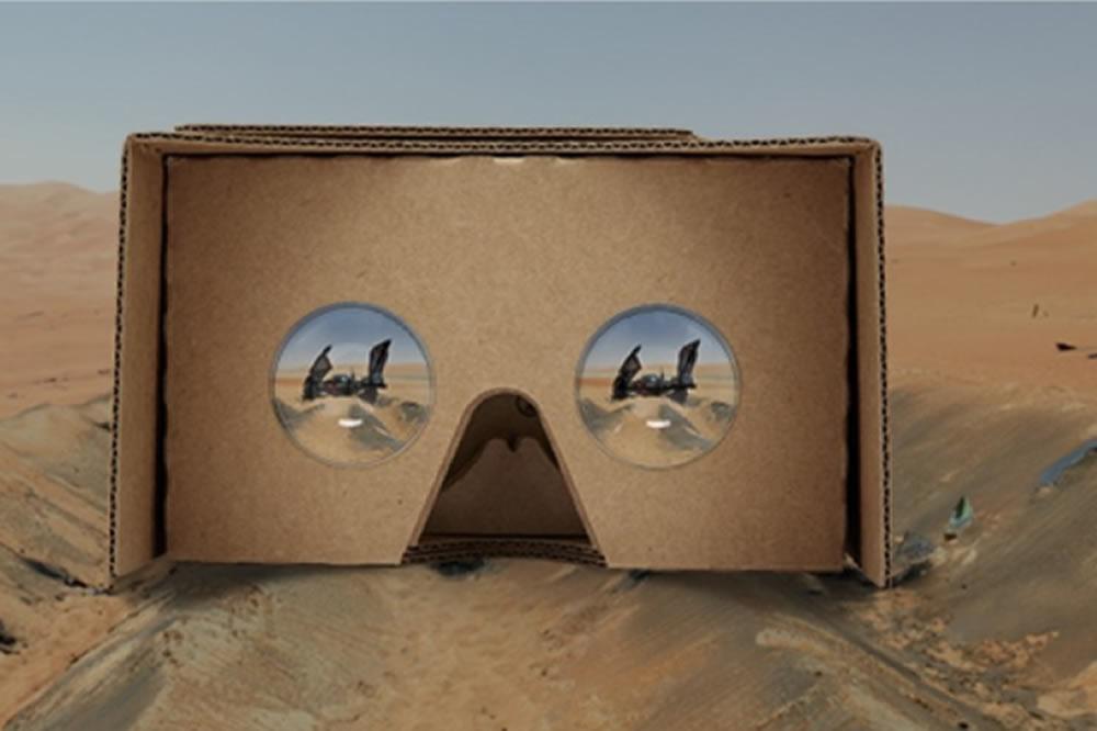 Application Star Wars pour Cardboard