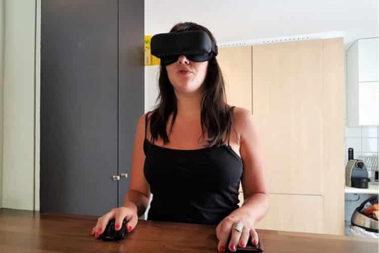 Casque de réalité virtuelle autonome
