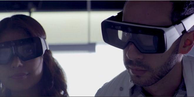 Daqri lunettes de réalité augmentée pour les industriels