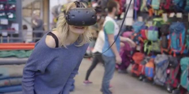 Décathlon réalité virtuelle choix tente camping