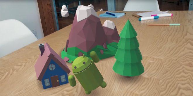 réalité augmentée android google smartphones