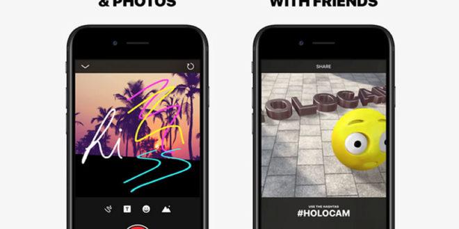 Holocam emojis 3D