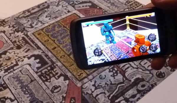 jeux réalité augmentée android