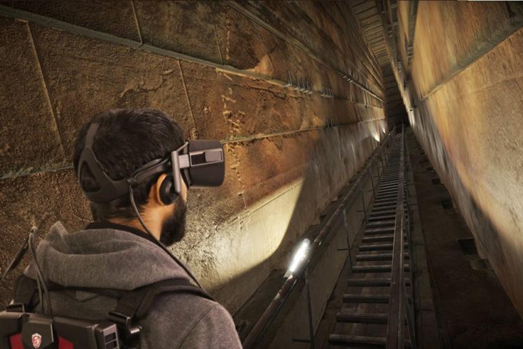 ScanPyramids VR expérience