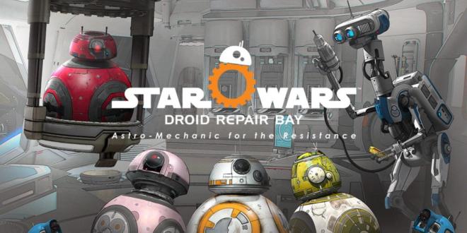 star wars vr droid repair