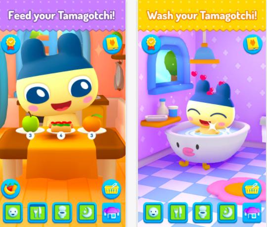 Tamagotchi application AR réalité augmentée