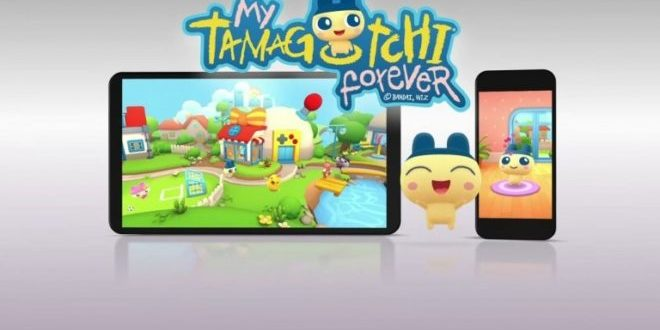 Tamagotchi AR application smartphone