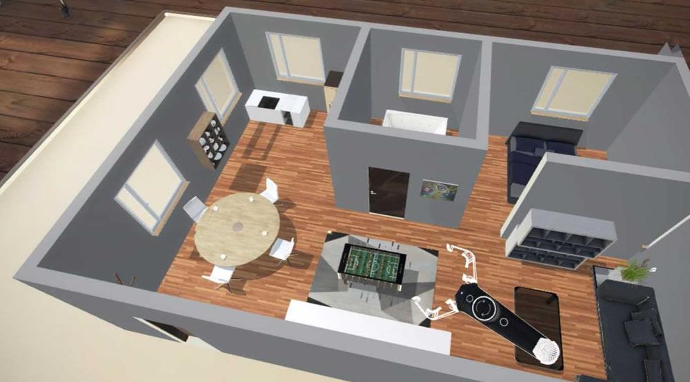 TrueScale design intérieur architecture VR