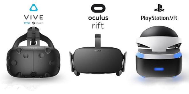 Ventes casques de réalité virtuelle Q3 troisième trimestre 2017