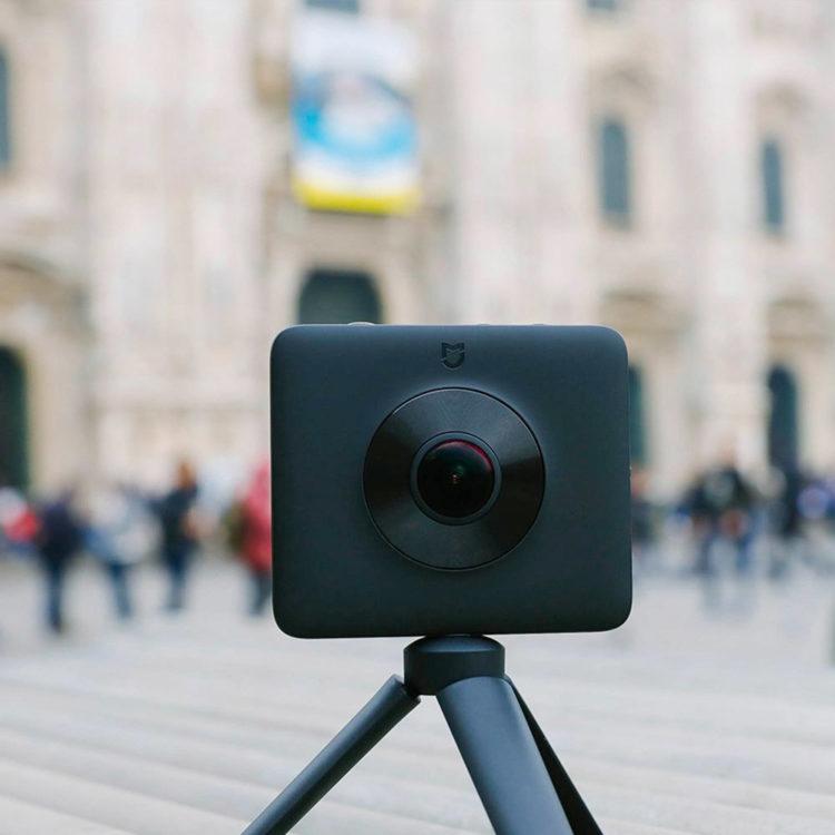Xiaomi, Xiaomi Mijia, gearbest, caméra, 360, panoramique, bon plan, promotion, vidéo, 3,5k, application,