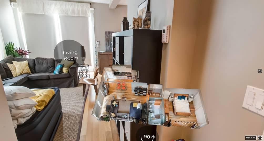 Airbnb réalité virtuelle