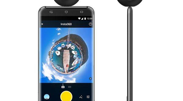 Caméra 360 Insta360 Air connectée au smartphone