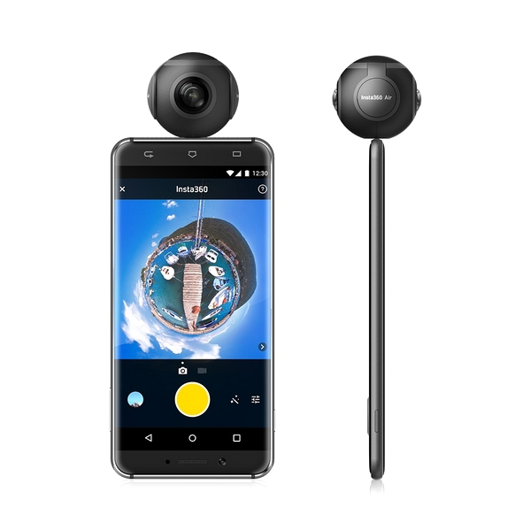 Insta360 Air, smartphone, Android, camera 360