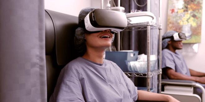 Réalité virtuelle et cancer pour réduire le stress