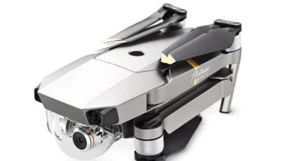 Drone DJI Mavic pro une fois replié