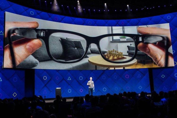 facebook ar démocratisation lunettes