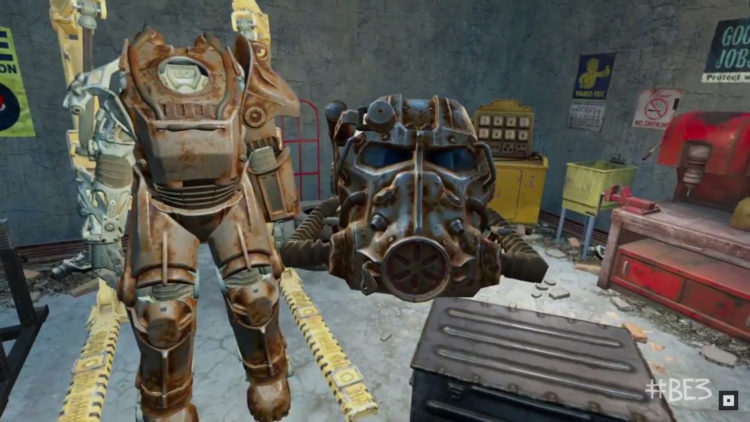 fallout 4 vr test du jeu vr le plus ambitieux de 2017. Black Bedroom Furniture Sets. Home Design Ideas