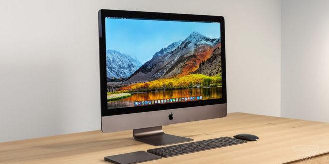 iMac Pro 2017 développeurs en VR