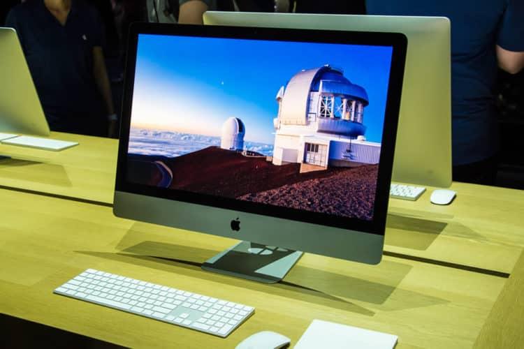 iMac Pro 2017 réalité virtuelle