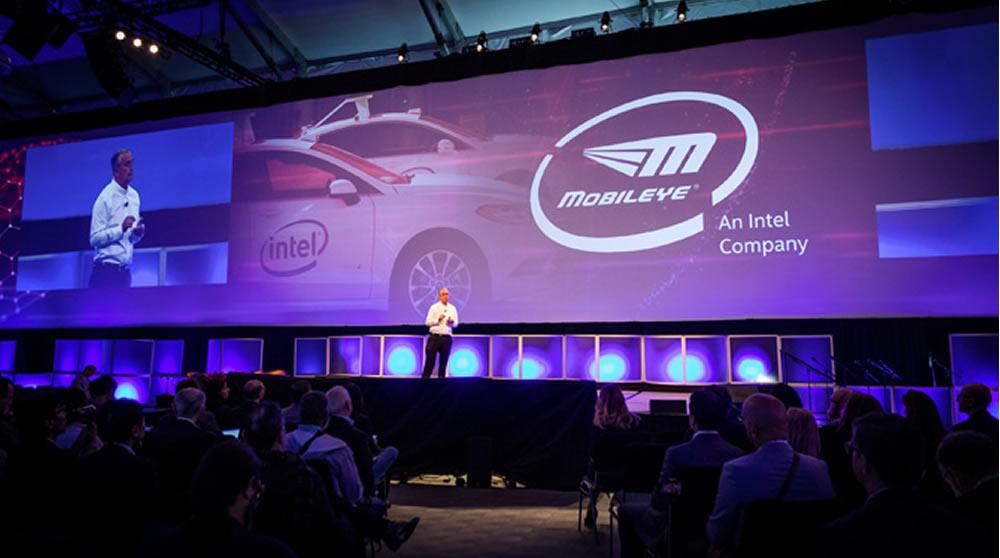Intel voiture autonome publicité VR