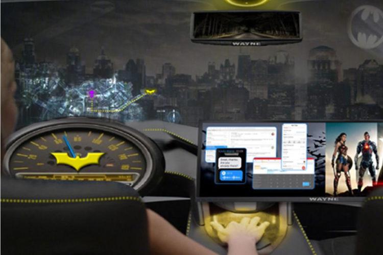 Intel voiture autonome VR réalité virtuelle