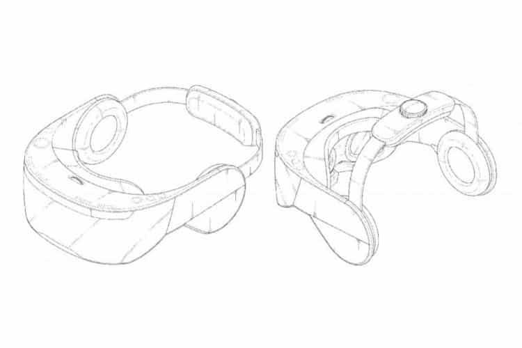 LG Steam VR écouteurs intégrés brevet