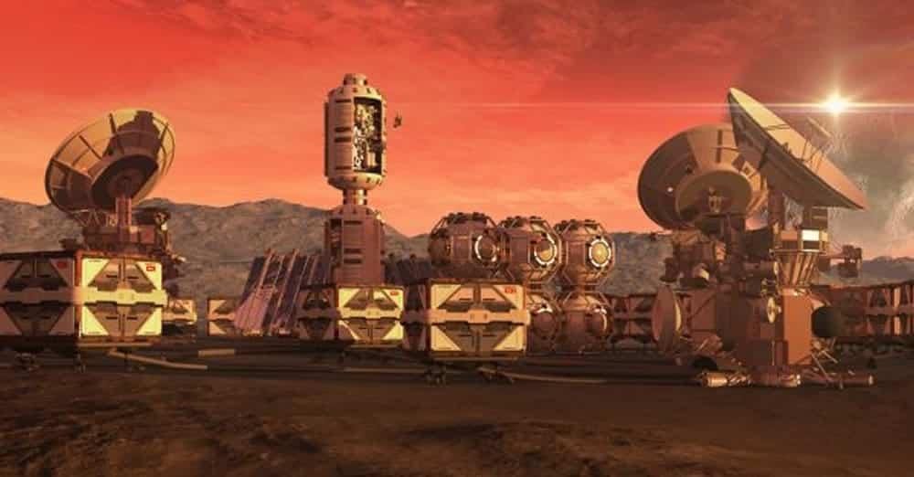 Mars réalité virtuelle