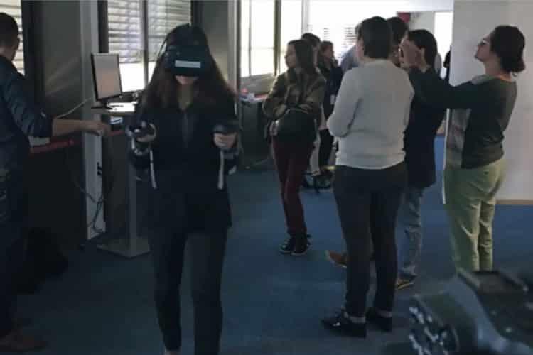 Pôle emploi réalité virtuelle