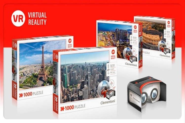Puzzles réalité virtuelle ¡