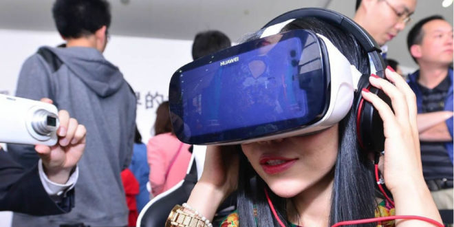 Sortie casque réalité virtuelle Huawei