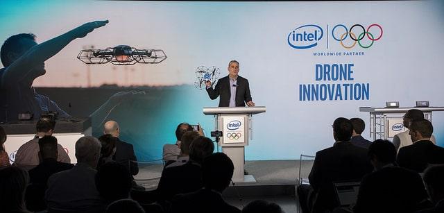 Présentation du partenariat entre Intel et JO hiver