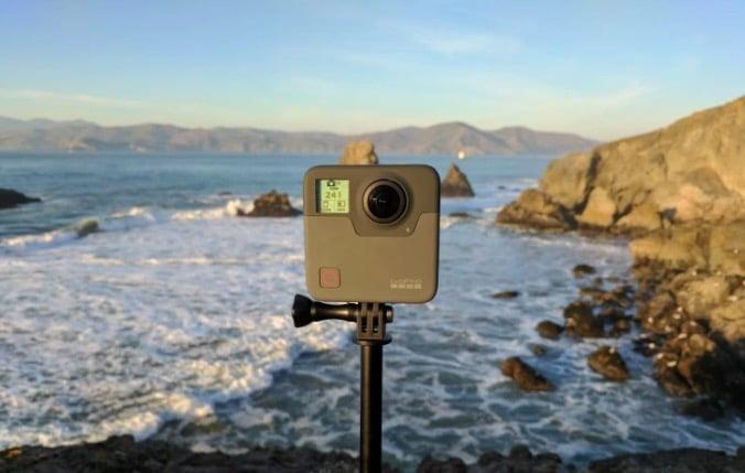 go pro fusion 360, camera 360, film 360, OverCapture