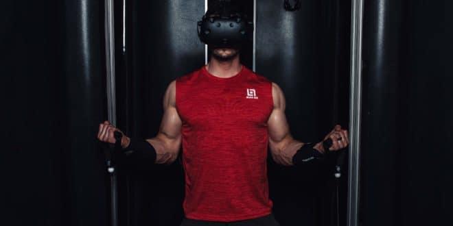 Test Black Box VR, sport connecté, HTC Vive,