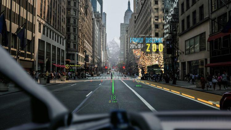 GPS en realite augmentee integré