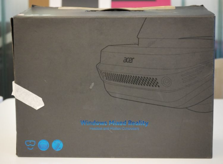 acer, casque, avis, unboxing, Acer Windows Mixed Reality