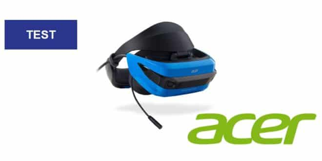 acer, casque, avis, Acer Windows Mixed Reality