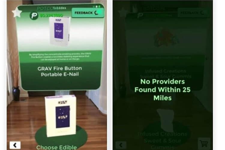 Acheter du cannabis en réalité augmentée