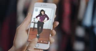 Amazon cabine d'essayage virtuelle AR