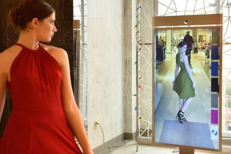 Amazon miroir AR